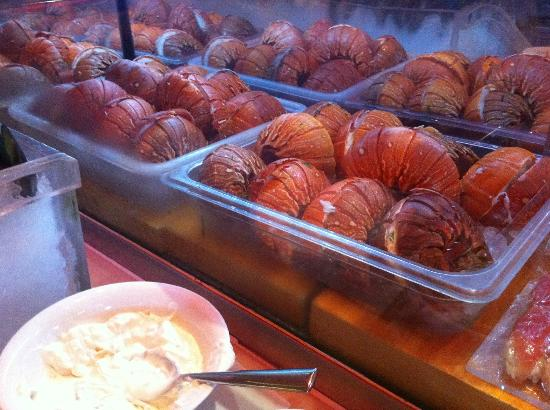 Saffron: All you can eat lobster tails!