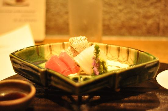 Gion Karyo: sushi selection