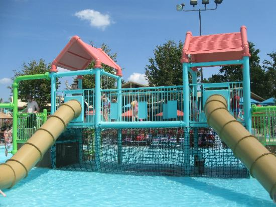 White Water : Small kids play area