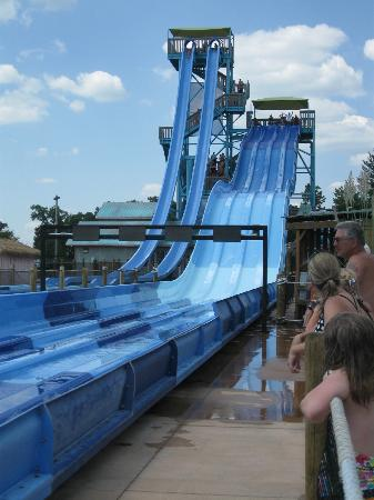 White Water : The largest waterslides