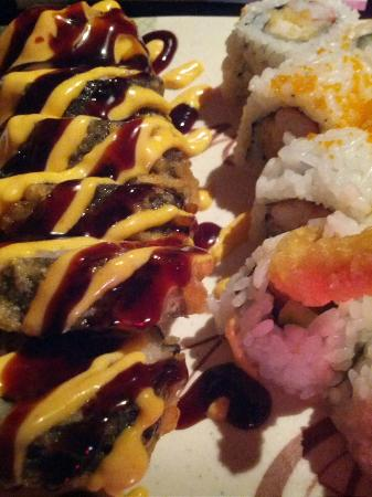 Sakura Japanese Steak House & Sushi Bar: fat boy and cape coral roll