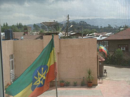 Addis Regency Hotel: View from room