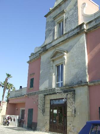 Hotel Villa Rosa Antico: Facciata ingresso