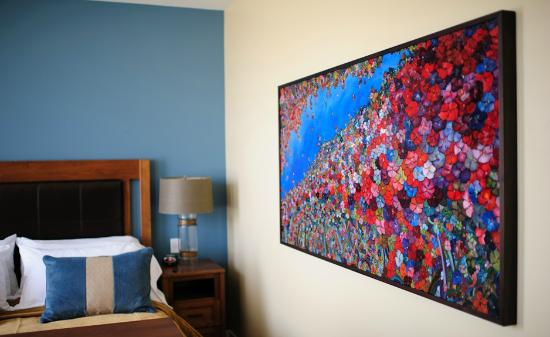 Two Thirty-Five: Luxury Suites: The suites feature original artwork by local artists.