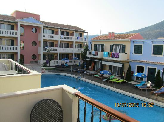 Hotel Captain Stavros: View from balcony