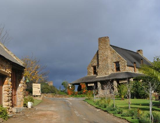 Lord's Guest Lodge-McGregor : Welcoming entrance