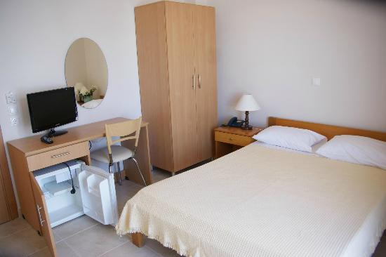 Hotel International: double bed room