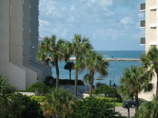 Pelican Pointe Hotel and Resort: View from balcony!