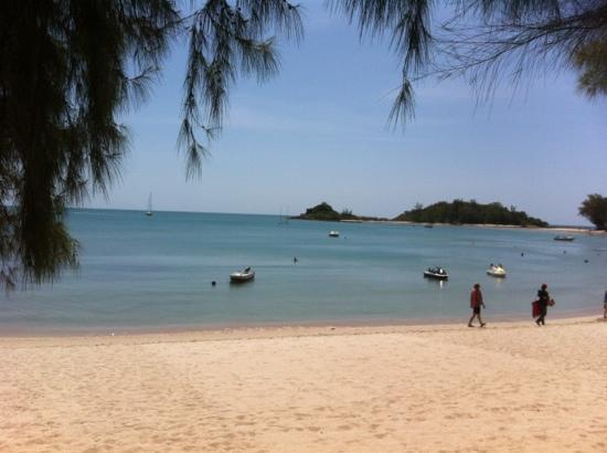 O Soleil Bungalow: strand
