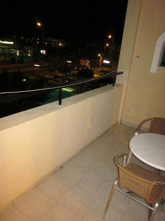 Mon Repos Villa - Hotel: Our Balcony with view to the beach.