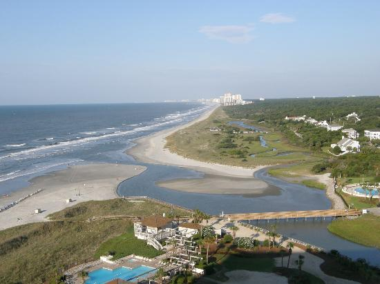North Beach Plantation View Of The Shorline From Indigo Tower