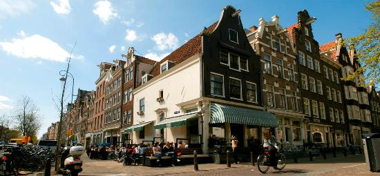 Photo of Modern European Restaurant Winkel 43 at Noordermarkt 43, Amsterdam 1015 NA, Netherlands