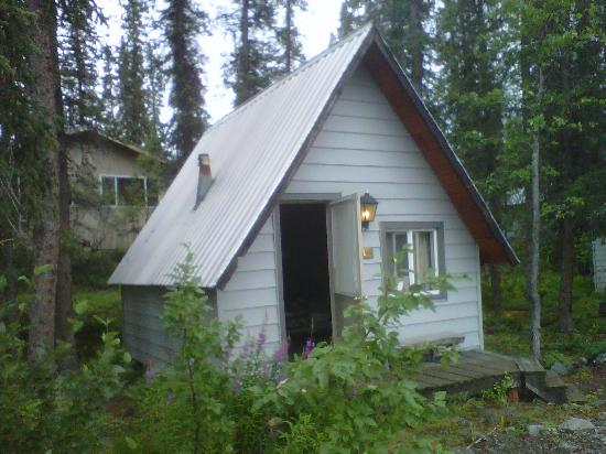 The Perch Resort: Our hut..
