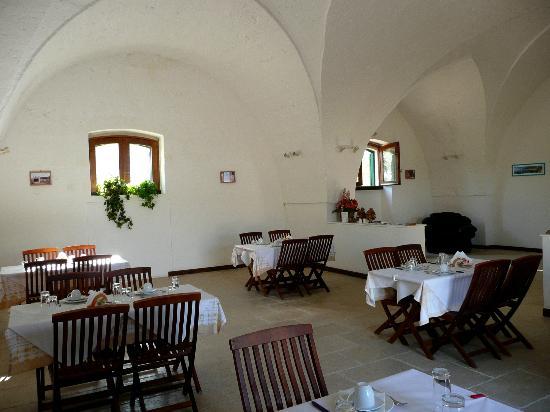 Masseria Marianna: Breakfast area