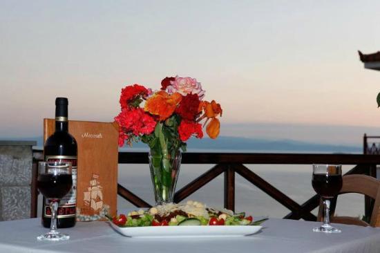 View of Maistrali Restaurant