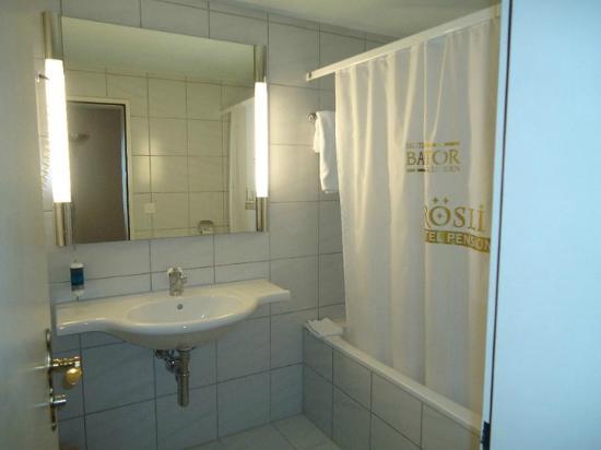Baslertor Summer Pool Hotel: Bagno