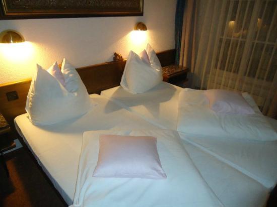 Baslertor Summer Pool Hotel: Stanza matrimoniale (due letti vicini)