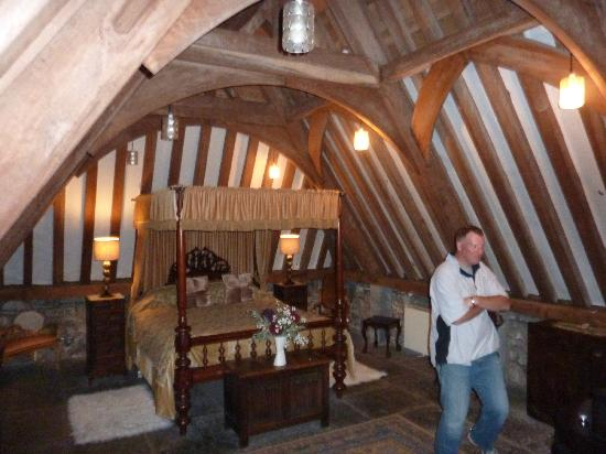 Ballyhannon Castle: Medieval timbers over your bed