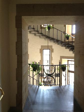 Graylyn Estate: The Manor House Stairs