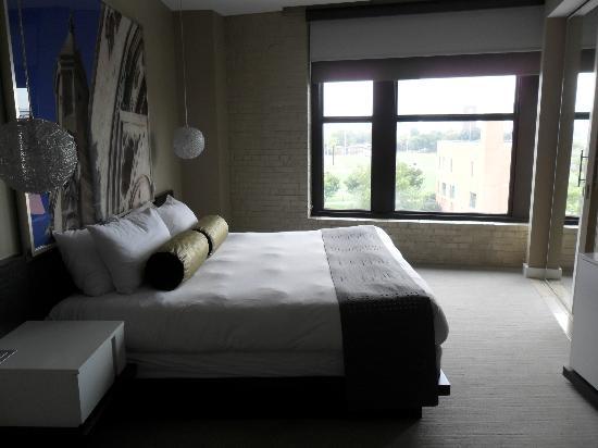 Hotel Ignacio: Bed