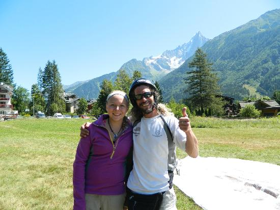 Peak Experience Parapente : Claudia and David