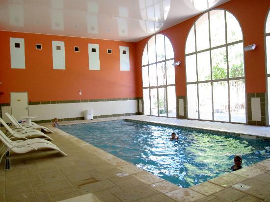 La Résidence du Château de Jouarres : Indoor Pool