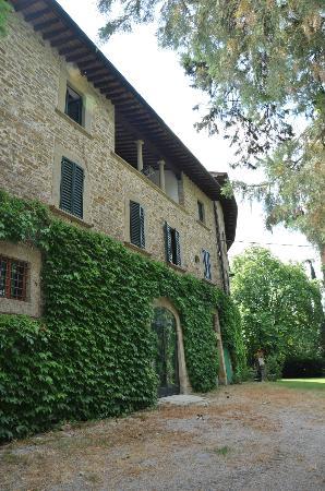 Relais La Torre: Bygningen hvor familien bor