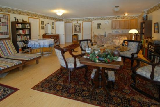 B & B Villa Massawippi : Family room