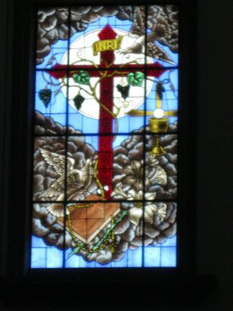 Iglesia de la Merced: More stained glass