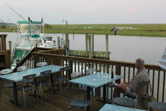 "Island House Restaurant: The deck is a great spot for a ""digestif."""
