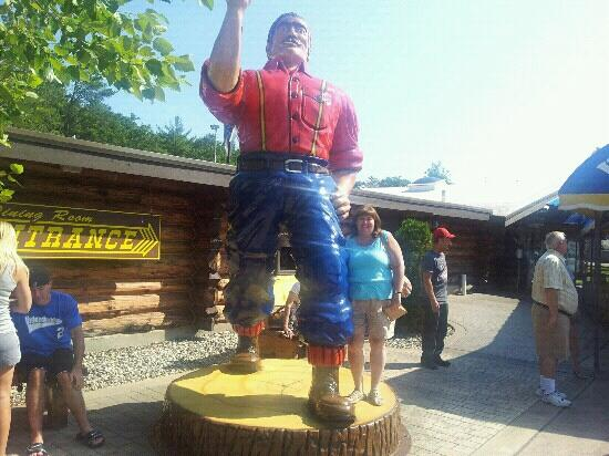Paul Bunyan's Northwoods Cook Shanty: First time here and totally enjoyed it !!!!!