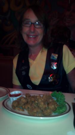 Broussard's Cajun Cuisine: Fried alligator tail.