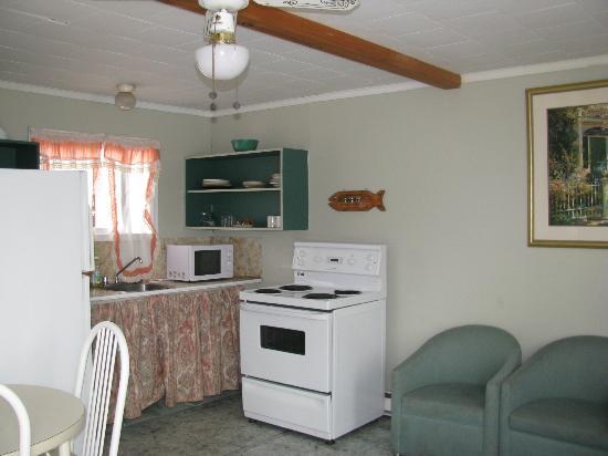 Blue Coast Cottages: Kitchen area for a 2-bedroom