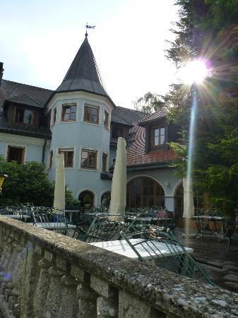Gasthof Hotel Doktorwirt: hotel al tramonto con sole