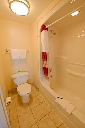 Red Roof PLUS+ Boston - Logan: Bathroom