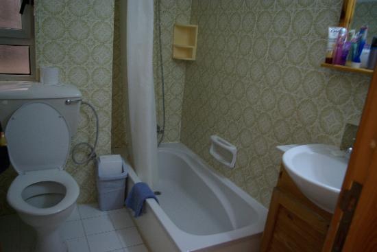 Plevna Hotel: Salle de bain et toilettes