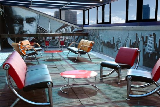 Four Points by Sheraton Mexico City Col. Roma: Terraza
