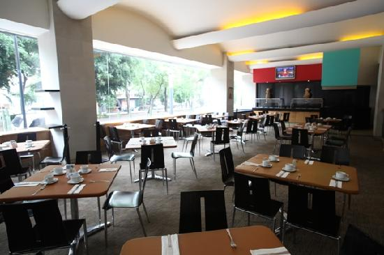 Four Points by Sheraton Mexico City Col. Roma: Restaurante Sarabela Hotel Four Points Mexico City