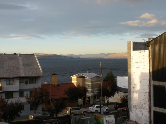 Hostel Los Troncos : Vista desde el SUM