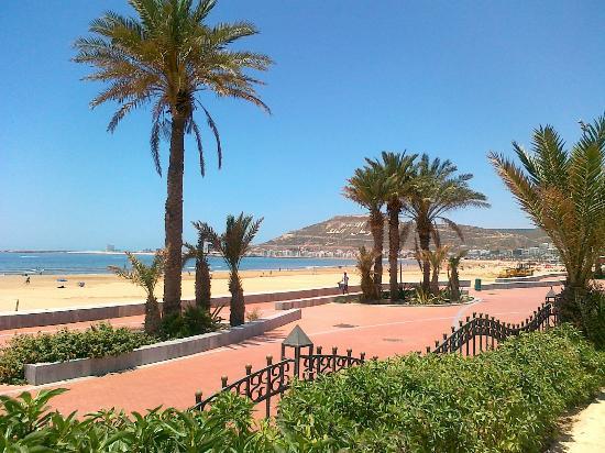 Club Med Agadir: passeggiata