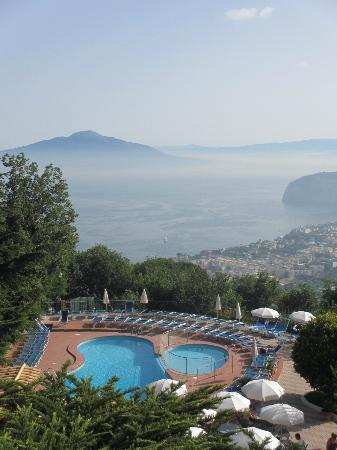 Grand Hotel Hermitage & Villa Romita: View from room