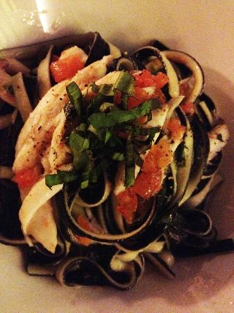 Al Tuguri Black & white linguine with skate