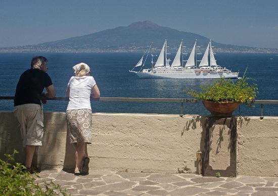 Grand Hotel Ambasciatori : View from the terrace