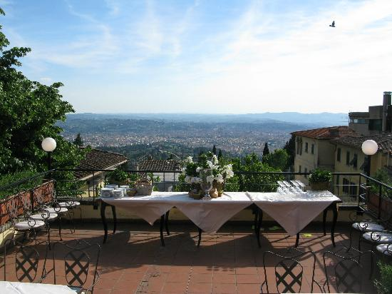 Terrace at Terrazza45 - Picture of Terrazza 45, Fiesole - TripAdvisor
