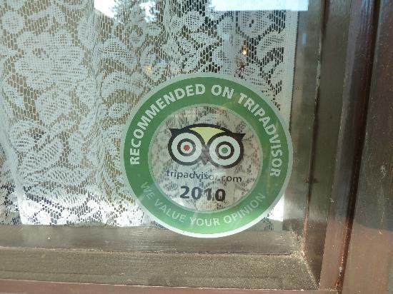 Rosedale Manor: Empfehlung von Tripadvisor? Kaum zu glauben!