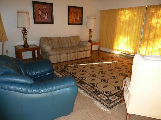 Rosedale Manor: Wohnzimmer Wohnung 17