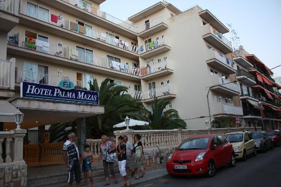 Hotel Palma Mazas: отель