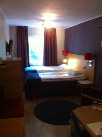 Spar Hotel Garda : Our room in Spar Hotel Gårda, Göteborg, Sweden