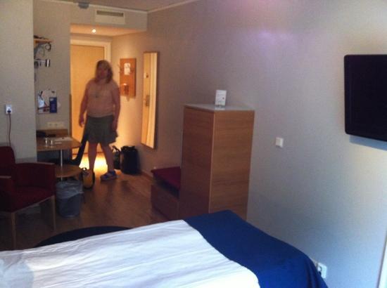 Spar Hotel Garda : Big rooms in Spar Hotel Gårda