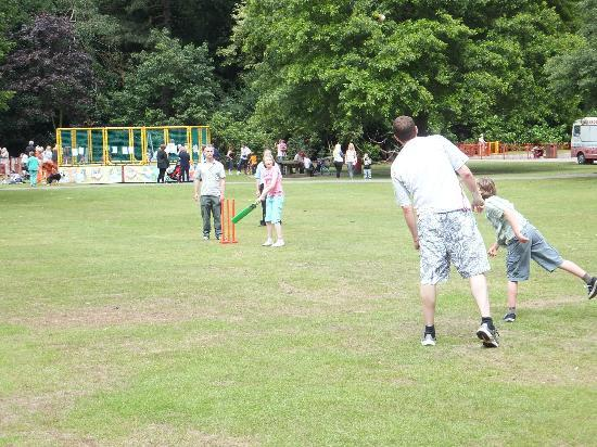 Walton Hall and Gardens: Playing for the Ashes!